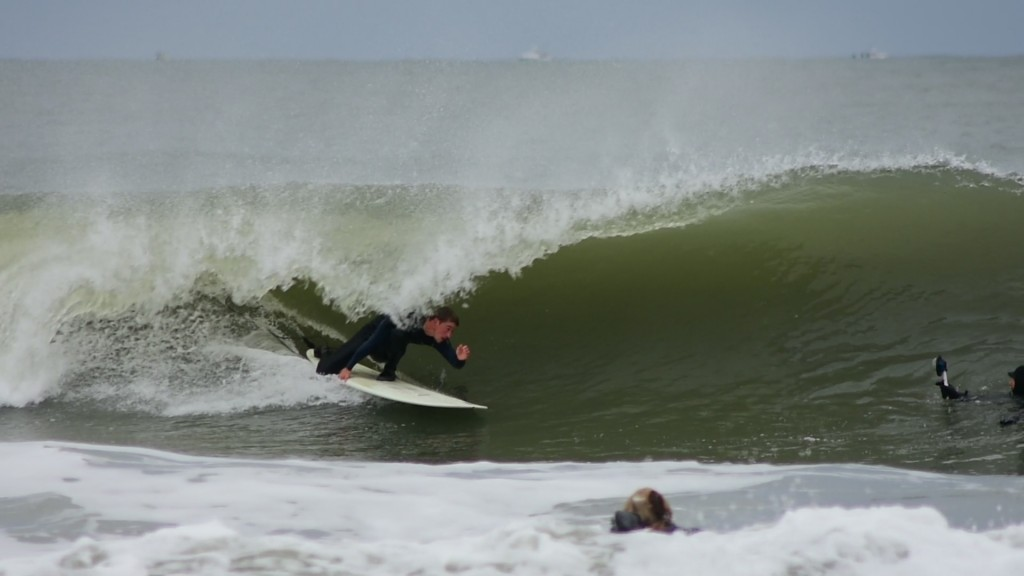 Kevin DeWald. New Jersey, surfing photo