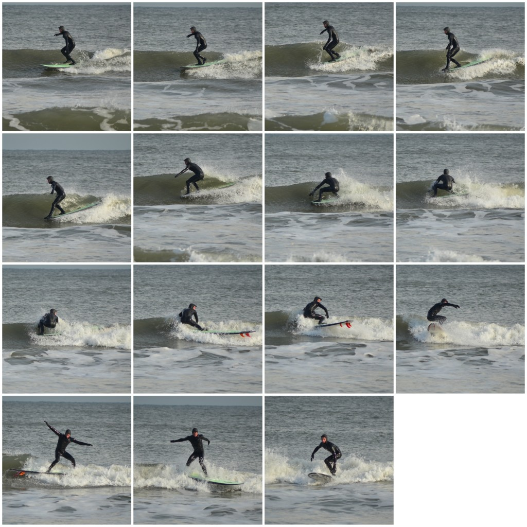 Longboarding in North Wildwood, NJ. New Jersey, surfing photo