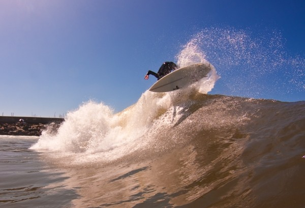 Chocolate Airs. SoCal, Surfing photo