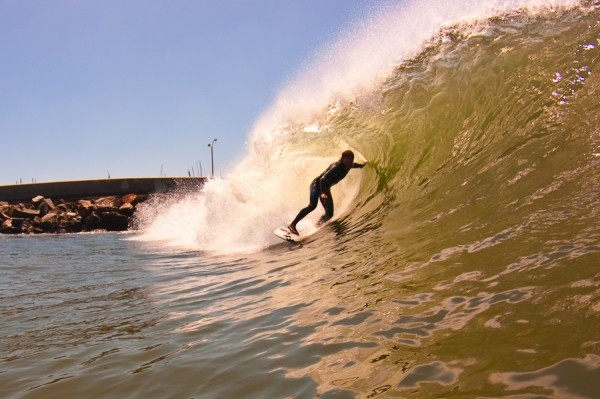 Chocolate Barrels. SoCal, Surfing photo