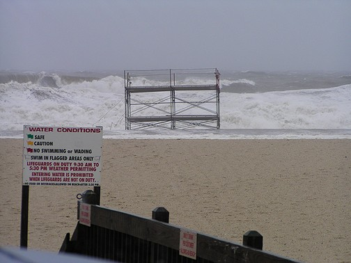 Guess it was red-flagged.... New Jersey, surfing photo