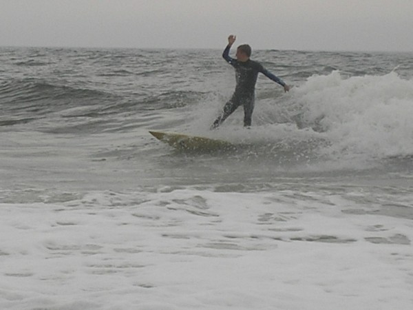 Sharks Choppy and Small. New Jersey, Surfing photo