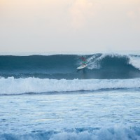 Photo of unknown surfer, from recent trip to Puerto