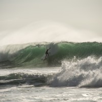 Nice left. Puerto Rico, Surfing photo