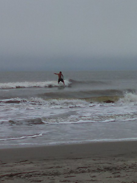 Hang 5 at IOP. United States, Surfing photo