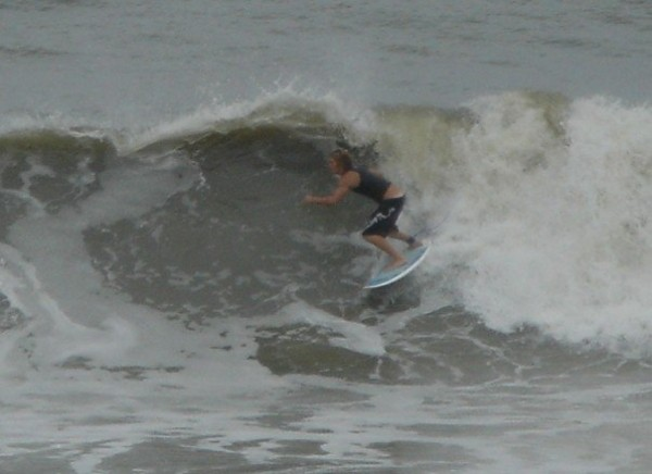 hurricane ernesto-south bethany, de. Delmarva, surfing photo