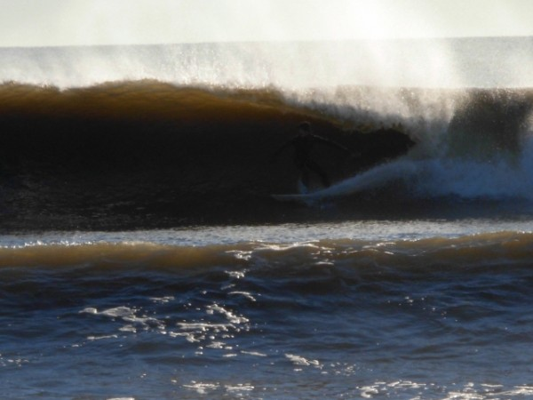 MB- Christmas Eve. New Jersey, surfing photo