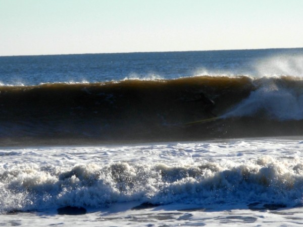 MB-Christmas Eve. New Jersey, surfing photo