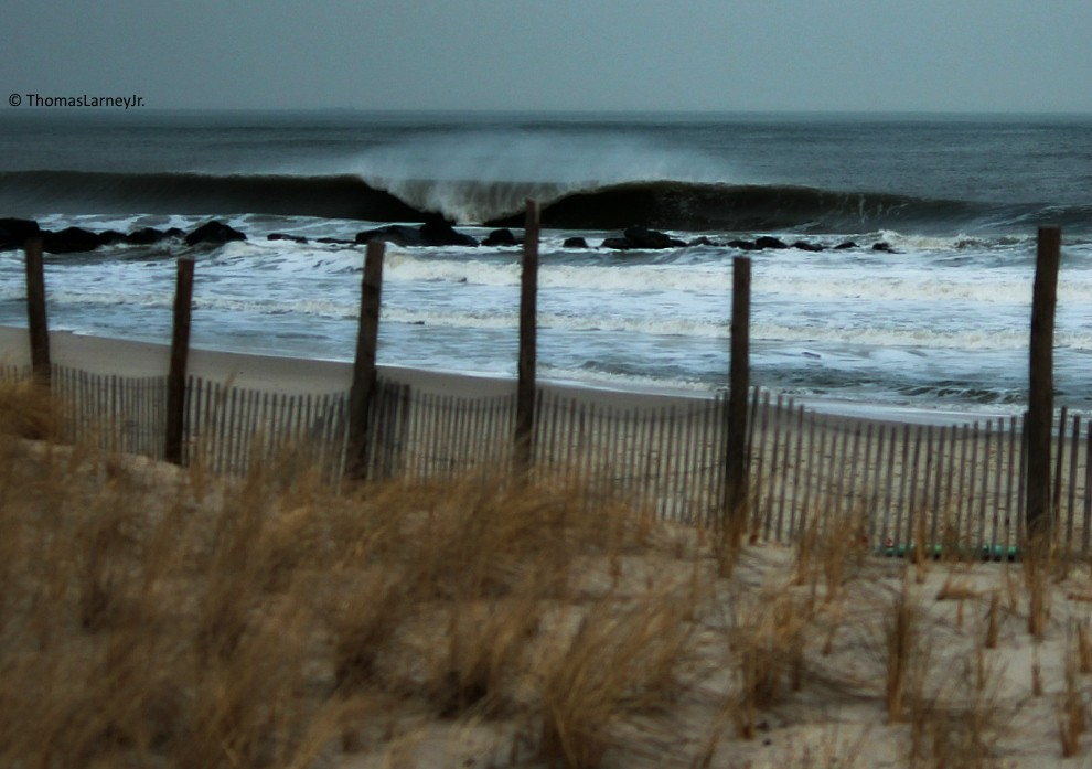 Jersey A Frame. New Jersey, surfing photo