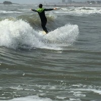 :) mushbuger. North Texas, surfing photo
