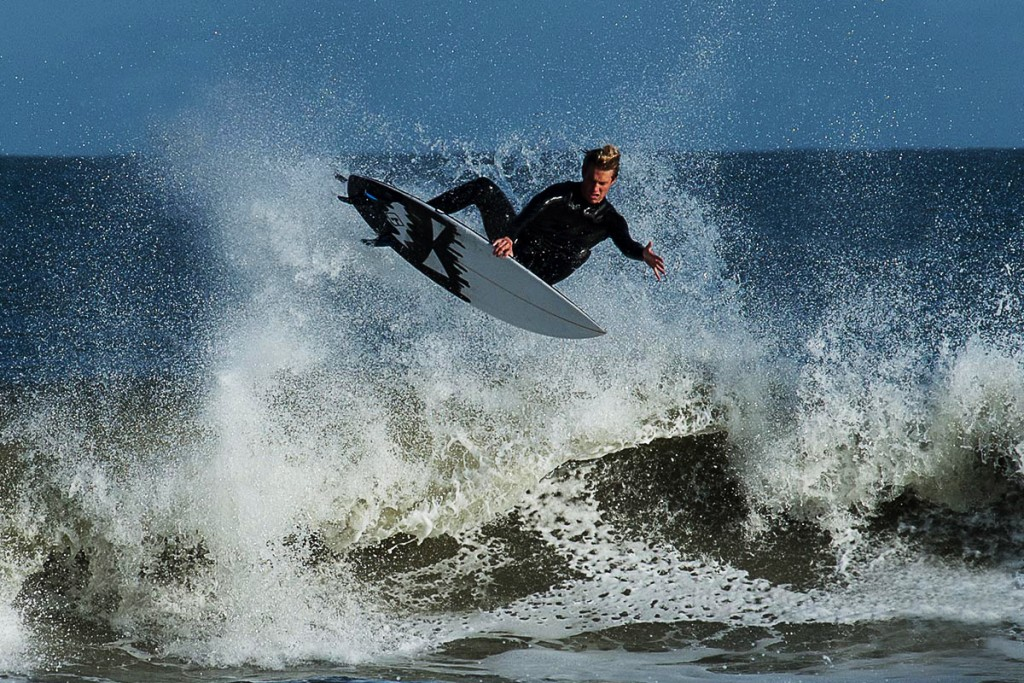 Mason Hollis, Air-Reverse, Mayport Poles . North Florida, Surfing photo