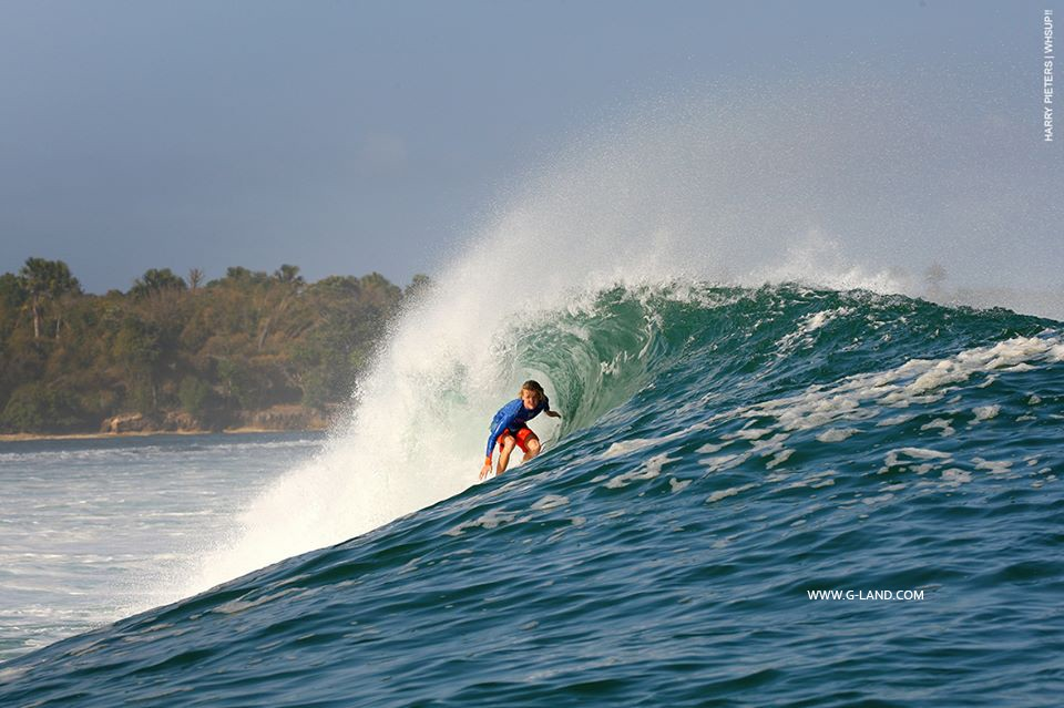 East Java Surf on August 11, 2015