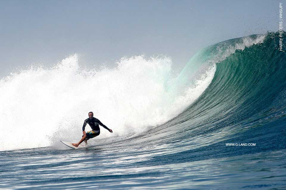 Best Surf Spot in Indonesia on Oct 12, 2015