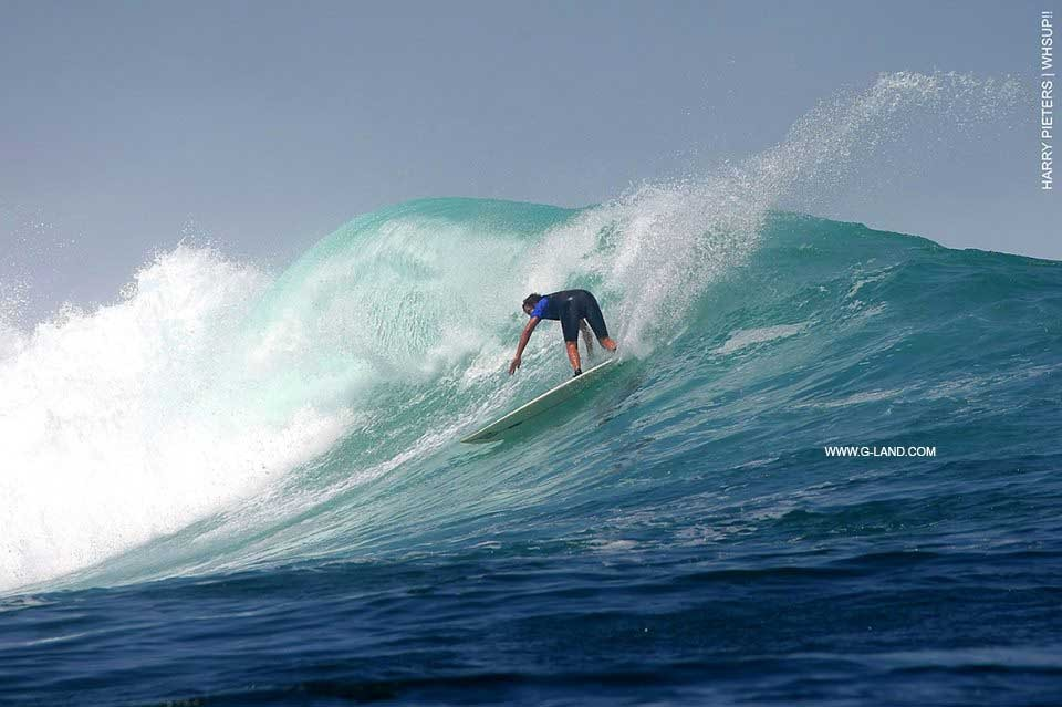 Surf Travel Indonesia on August 12, 2015. Java, surfing photo