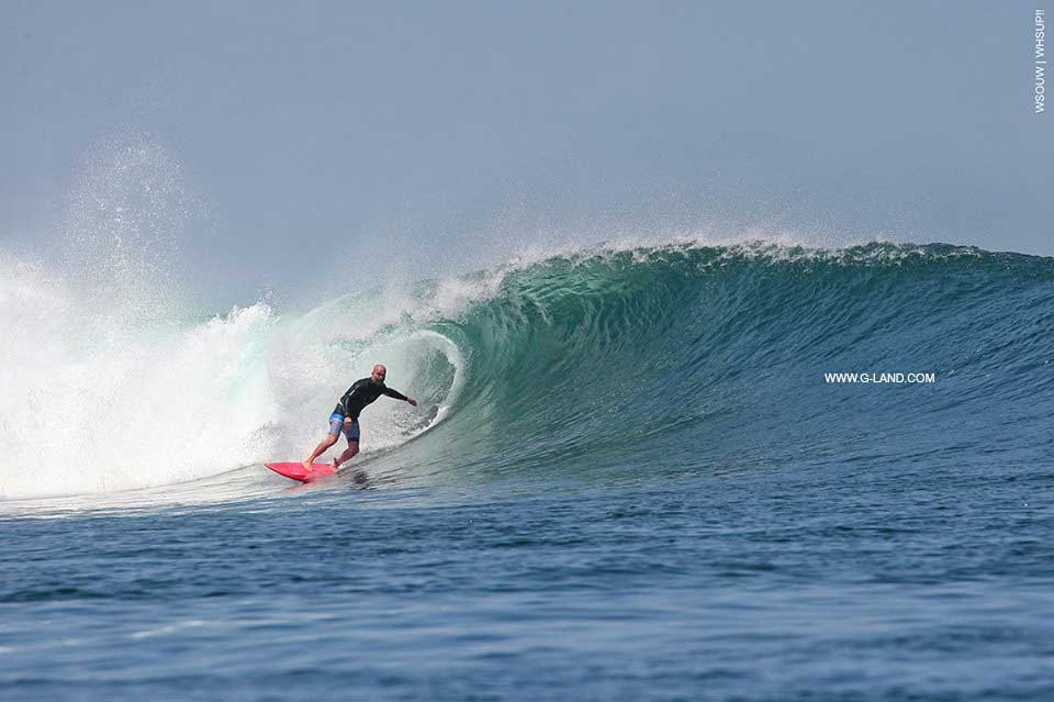 Best surf spot in Indonesia on August 13, 2015