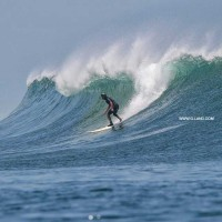 Surf Camp Indonesia on October 13, 2105. Java, Surfing photo
