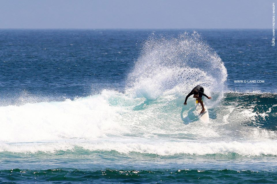 G-Land Surf Spot on August 19, 2015 | more: g-land.com