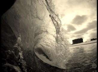 Gopro Testing. New Jersey, Empty Wave photo