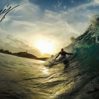 681. Puerto Rico, Surfing photo