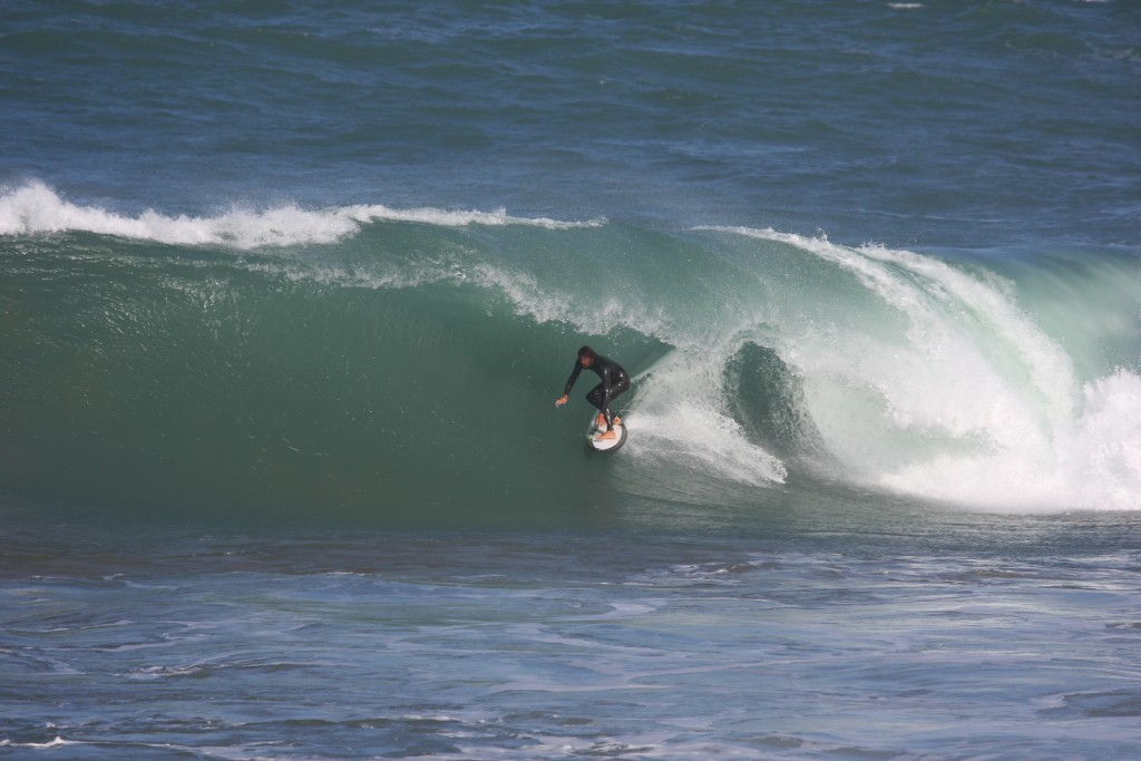 Dave Rastovich surfing Taghazout Morocco. A nice hollow