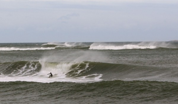 New England Winter swells 2010. Northern New England, Surfing photo