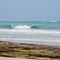 #Guanacaste, Costa Rica. Low tide. Great swell at the