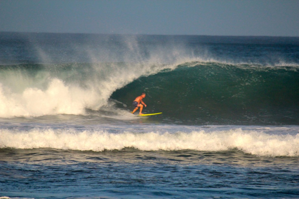 Last wave of the trip. Costa Rica, Surfing photo