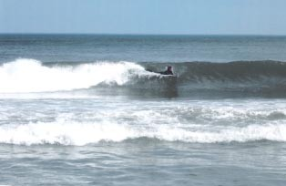 getting ready to spin 360. Delmarva, surfing photo
