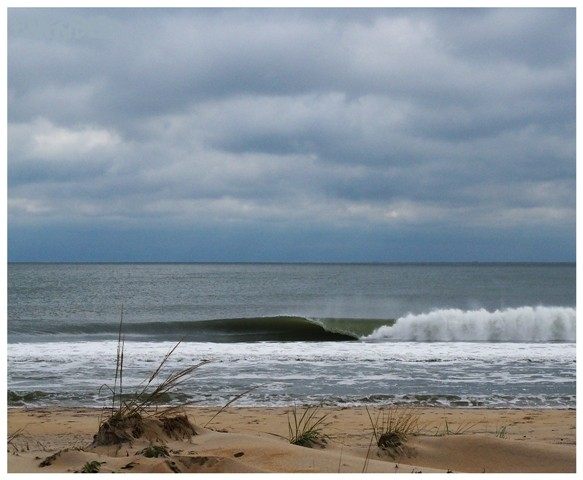 Lined Up .. Delmarva, Empty Wave photo