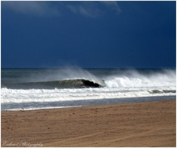 Afternoon Spotlight Feb.2011. Delmarva, Empty Wave photo