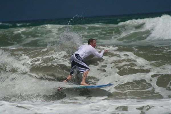 Huricane Dean 8.19.07. South Florida, surfing photo