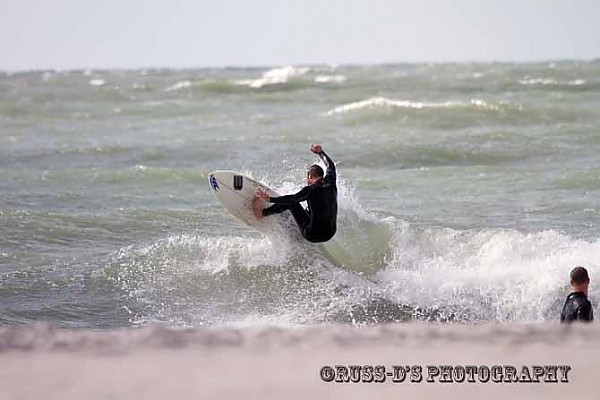 Nov. 4th Sand Key, FL nice early coldfront surf