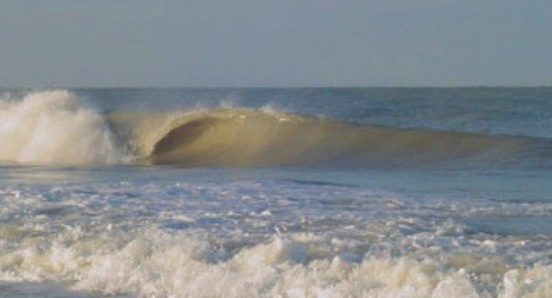 5th front of 06-07 winter. West Florida, surfing photo
