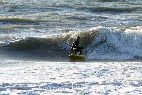 South Pinellas County Fun surf this evening in Treasure