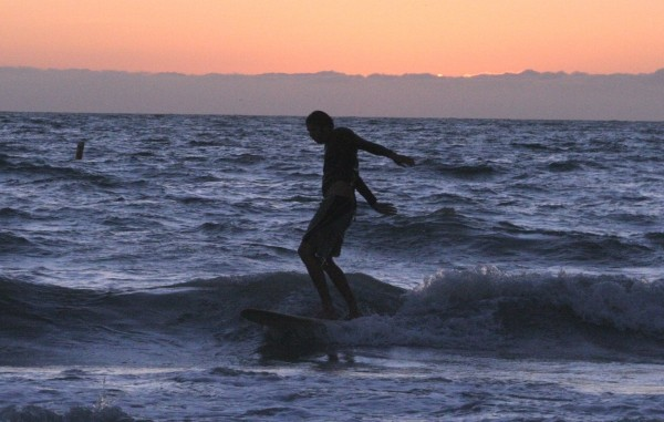 soul sunset. West Florida, surfing photo