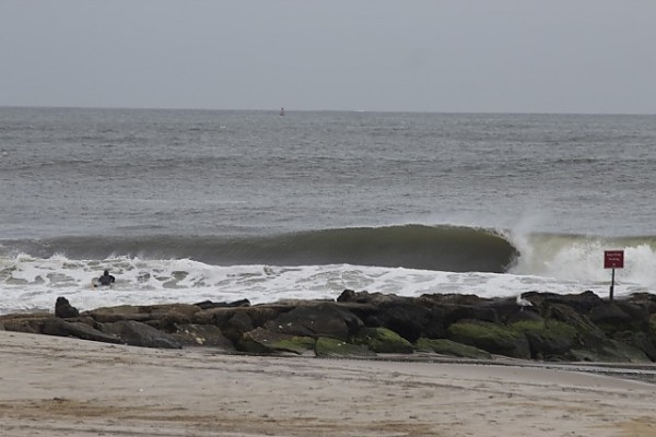 Rockaway Right 10/11/2013 Evening Session. New York, Empty Wave photo