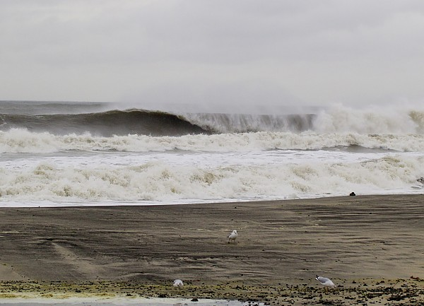 Thanksgiving Eve Swell In New Jersey 11/27/2013�. Firing.