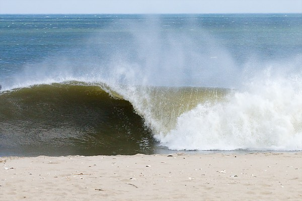 Dirty Jerz Spring Equinox Swell in NJ.  You can check