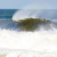 Chunky Monkey Spring Equinox Swell in NJ.  You can