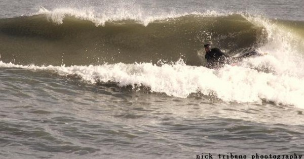 1-26-10. Delmarva, Bodyboarding photo