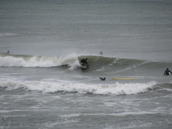 Surfing Lbi Thanksgiving barrels. New Jersey, Surfing photo