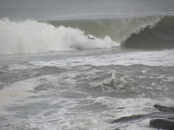 3rd Nor'easter bad wipeout!. New Jersey, Surfing photo