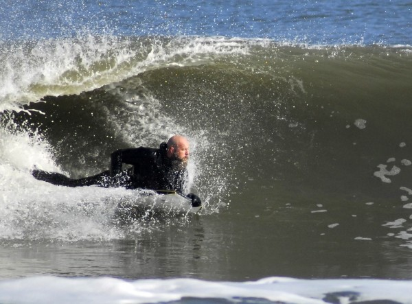 Prone surfing 70% of body heat is lost through the