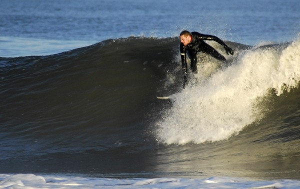 A decent drop Clean backside.. Delmarva, surfing photo