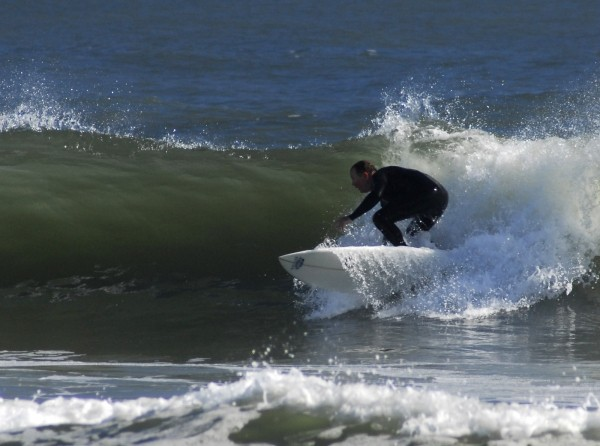 Bill Helmuth Bill Helmuth, 10/21/08. Delmarva, surfing photo