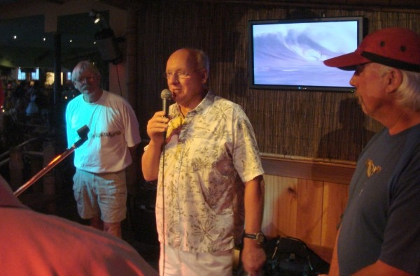 OCM 2008 Surfrider Legends Party 2008 Inductee Spyder