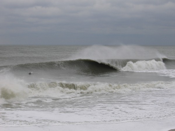 2-14-2007 at South Side. Delmarva, surfing photo