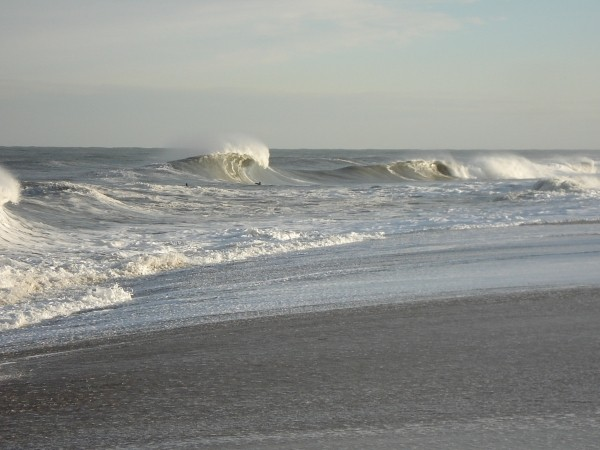 High Tide at South Side 11/3/2007. Delmarva, surfing photo