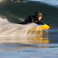 Cruising along Good Harbor Beach. Northern New England, Bodyboarding photo