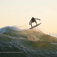 Omar Meddeb gets air on the backside of The Wedge.